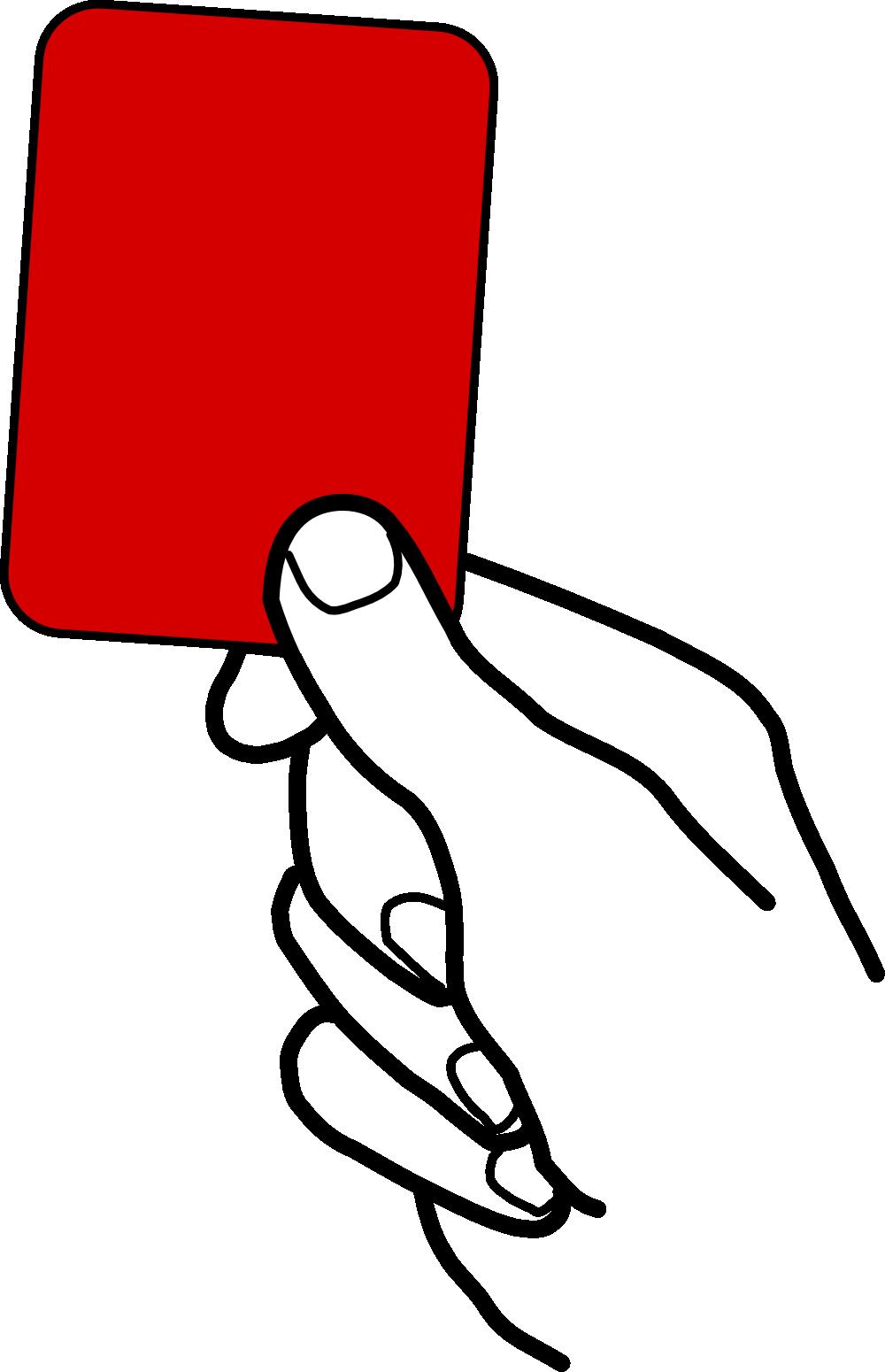 rote karte gif